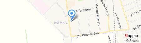 Эстер салон красоты на карте Авдеевки