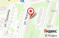 Схема проезда до компании Абонент в Домодедово