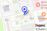 Схема проезда до компании АВТОШКОЛА КЕСОВ в Москве