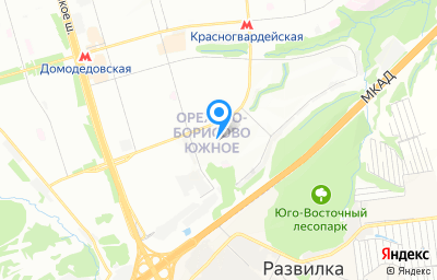 Местоположение на карте пункта техосмотра по адресу г Москва, ул Ясеневая, д 30Г