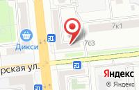 Схема проезда до компании Наш Бронетанковый Музей в Москве