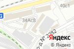 Схема проезда до компании Интеринструмент в Москве