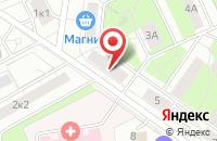 Схема проезда до компании Интерсоюз в Москве