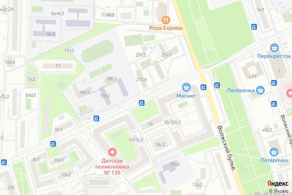 Ремонт телевизоров Улица Саратовская на яндекс карте