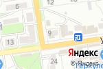 Схема проезда до компании Дива, салон красоты в Донецке