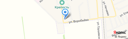 Салон-парикмахерская на карте Авдеевки