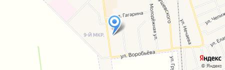 Украина на карте Авдеевки