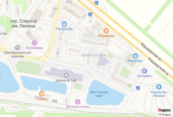 продажа квартир Жилой квартал №4, корп.3