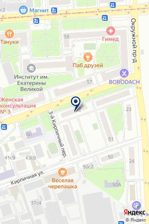 ВНЕШНЕЭКОНОМИЧЕСКАЯ ФИРМА ИНАЛЕКС на карте Москвы