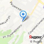 Новороссийское транспортное предприятие на карте Новороссийска
