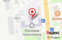 Схема проезда до компании Киф-В в Москве