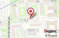 Схема проезда до компании Соколинка-Информ в Москве