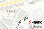 Схема проезда до компании avtovelomoto.ru в Москве