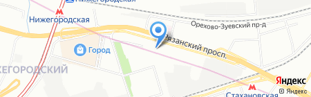 Малинка на карте Москвы