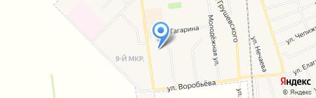 Силуэт ателье на карте Авдеевки