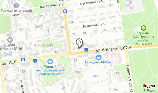 КВ. Схема проезда в Донецке