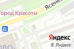 Схема проезда до компании Цветочная база №1 в Москве