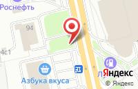 Схема проезда до компании Трида в Москве