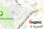 Схема проезда до компании Престиж в Октябрьском