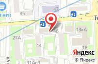 Схема проезда до компании Технология Ландшафта в Москве