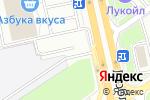 Схема проезда до компании Indesit в Москве