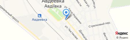 Color на карте Авдеевки