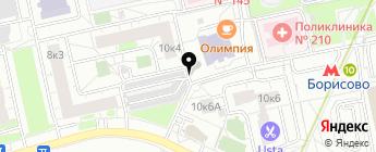 Сфера-авто на карте Москвы