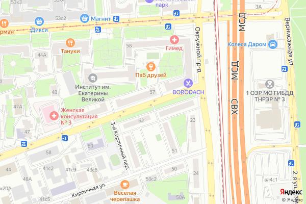 Ремонт телевизоров Измайловское шоссе на яндекс карте