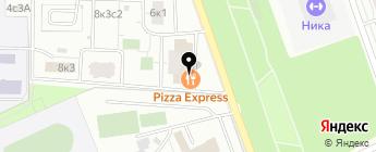 Квартет на карте Москвы