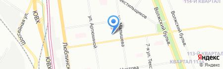 Морозко на карте Москвы