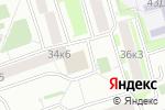 Схема проезда до компании Всероссийское общество инвалидов в Москве