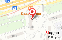 Схема проезда до компании Эпсилон График в Москве