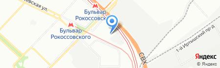 ТорнадоЛого на карте Москвы