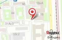 Схема проезда до компании Главпринт в Москве