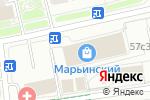 Схема проезда до компании Ломбард Меридиан в Москве