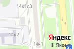 Схема проезда до компании Orgtexservise в Москве