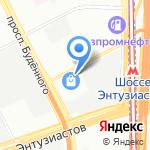 Комп-услуги на карте Москвы