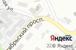 Схема проезда до компании Шар Шарик в Октябрьском