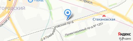 Техно Групп ВМ на карте Москвы