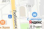 Схема проезда до компании Инголд в Москве
