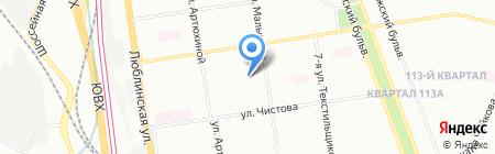 Группа Развития Бизнеса на карте Москвы