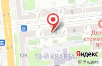 Схема проезда до компании АВС-Групп в Москве