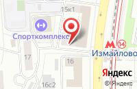 Схема проезда до компании Стройком-7 в Москве