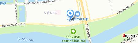 Exphone на карте Москвы