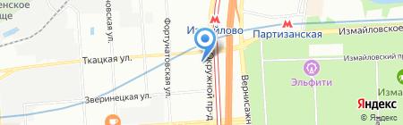 Стандартинжинвест АНО на карте Москвы