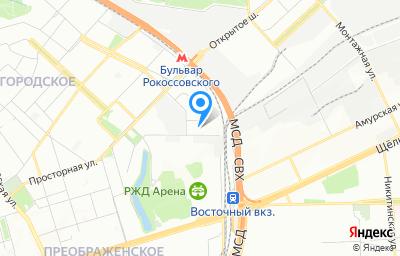 Местоположение на карте пункта техосмотра по адресу г Москва, проезд Тюменский, влд 5
