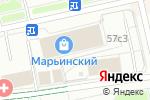 Схема проезда до компании Элит Бельё в Москве