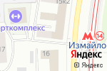 Схема проезда до компании АТС Телеком в Москве