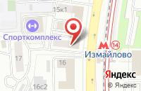 Схема проезда до компании Инжзащита в Москве