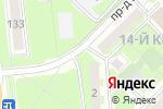 Схема проезда до компании ArtesTours в Москве